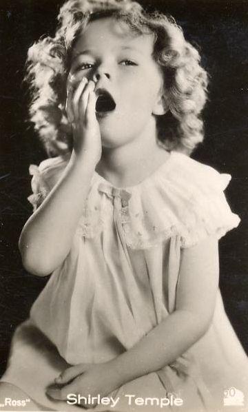 Shirley Temple, Cigarette Card, 1930s.