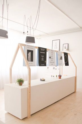 Pop-up store Design Incubator, bureau sacha von der potter, 2013, exhibition design