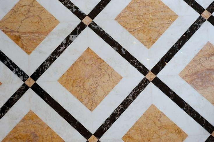 Arredare casa con pavimento in marmo - Decori per pavimenti in marmo