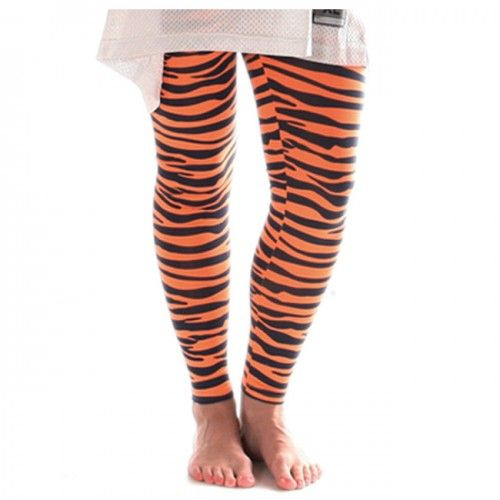 Detroit Tigers Striped Leggings At Campus Den