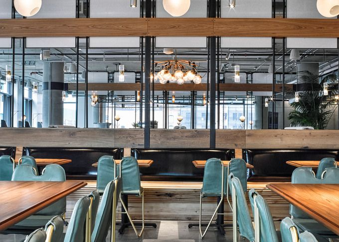 pleasing coffee bar for office. American studio AvroKo has completed a cafeteria and coffee bar in the new  San Francisco headquarters 93 best RNLI images on Pinterest Restaurant interiors Coffee