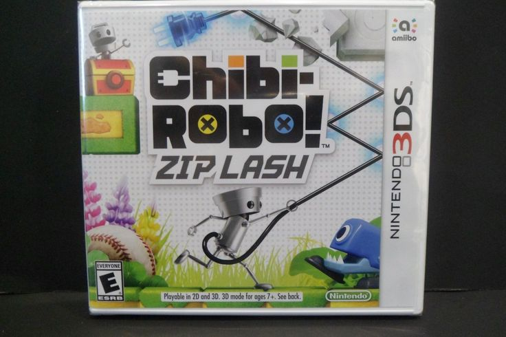BRAND NEW SEALED Chibi Robo Zip Lash Game Only Nintendo 3DS | Video Games & Consoles, Video Games | eBay!
