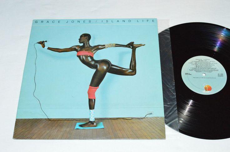 GRACE JONES Island Life LP 1985 Island Records Canada ISL-1050 VG /VG  Pop #ElectroSynth