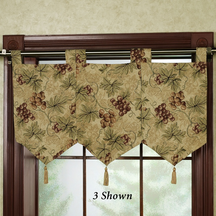 Floral Jubilee Empire Valance Light Cream 110 X 28