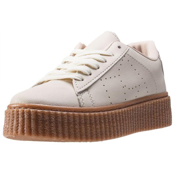 Cardouno Creeper Womens Trainers Beige Shoes