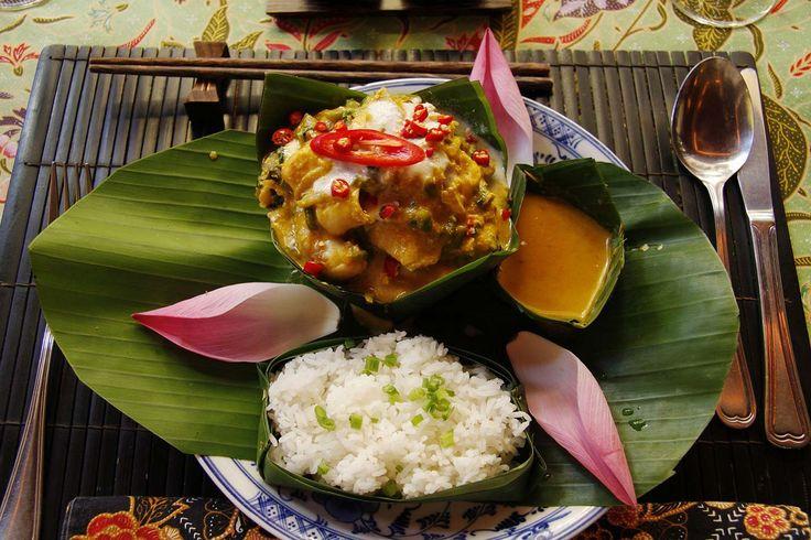Degustar un plato de amok - Diez cosas que hacer en Phnom Penh