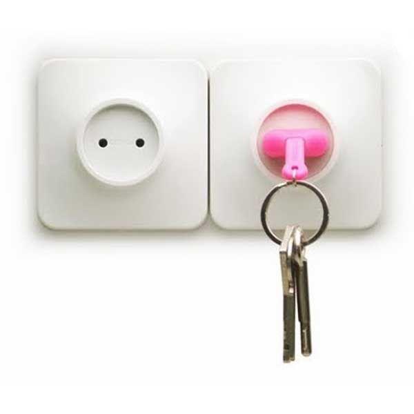 Porte clé original Unplug de Qualy