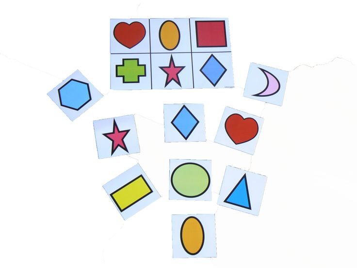 2D shape match for teaching and reinforcing the shapes http://www.edspecially4u.com.au/product/shape-match/