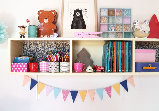 giochi di carta: Decorating kids room