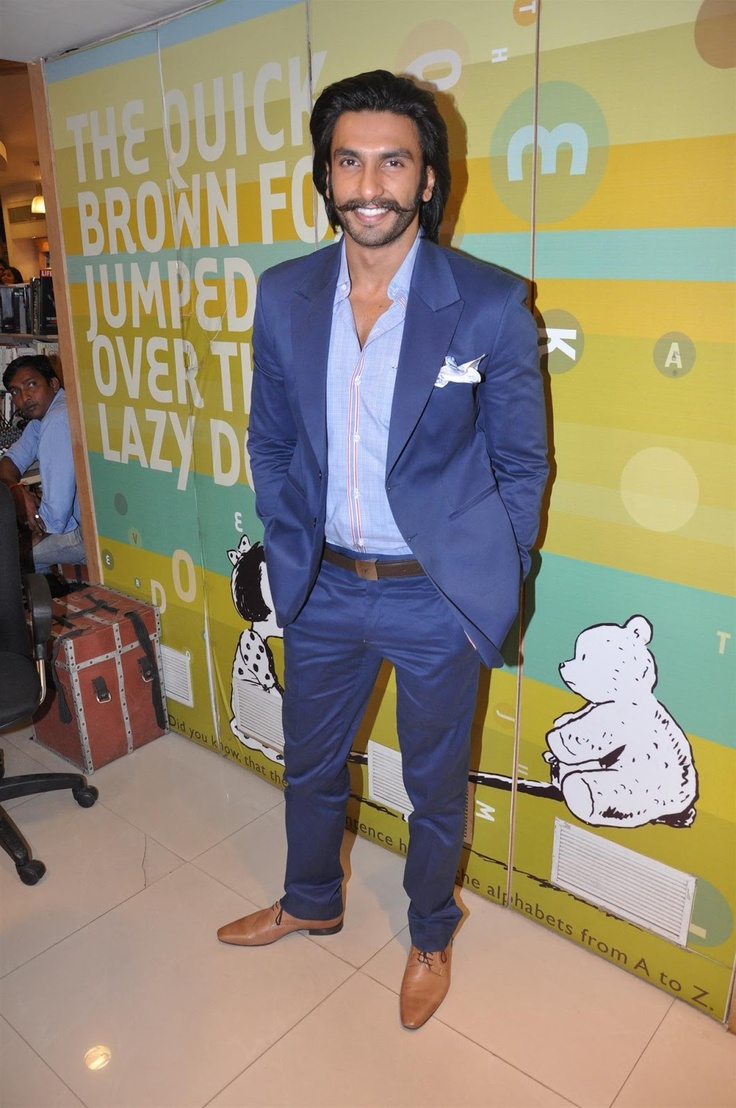 Ranveer Singh at Superstar Advice on How to be a Better Man Book Launch.
