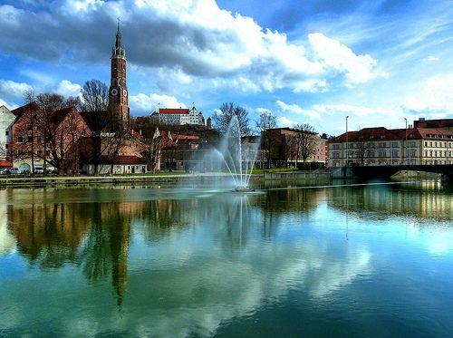 #Landshut an der #Isar #Bayern