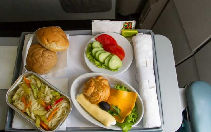 Airline meal tray