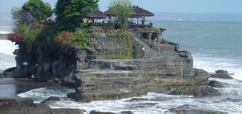 Tanah lot - Bali . Here are the reasons why Bali has became one of the most beautiful places in the world