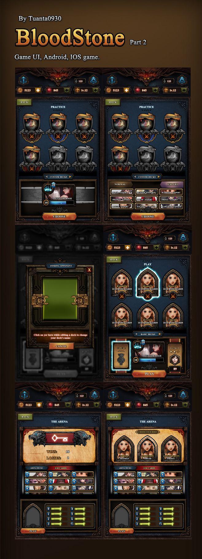 Blood Stone : Reski...@SilenceMo采集到GAME UI(5053图)_花瓣平面设计