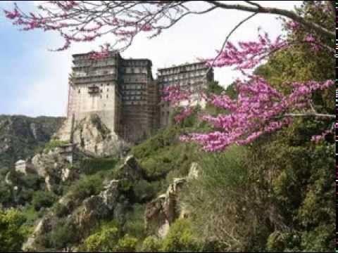Σιμωνόπετρα • Άγιον Όρος • Αγνή Παρθένε - Simonopetra • Mount Athos • Ag...