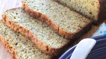 Grain free bread - Paleo - looks easy to make - almond flour, coconut flour, 7 eggs etc.