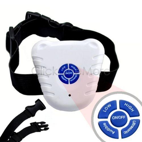 EZI-Ultrasonic-Stop-Barking-Dog-Training-Collar-Anti-Bark-Stop-Control-US