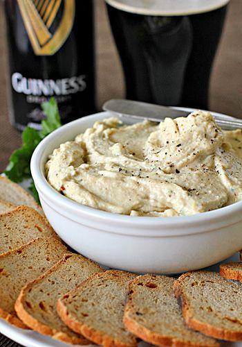 Super Bowl Recipe:   Guinness & Cheddar Cheese Spread