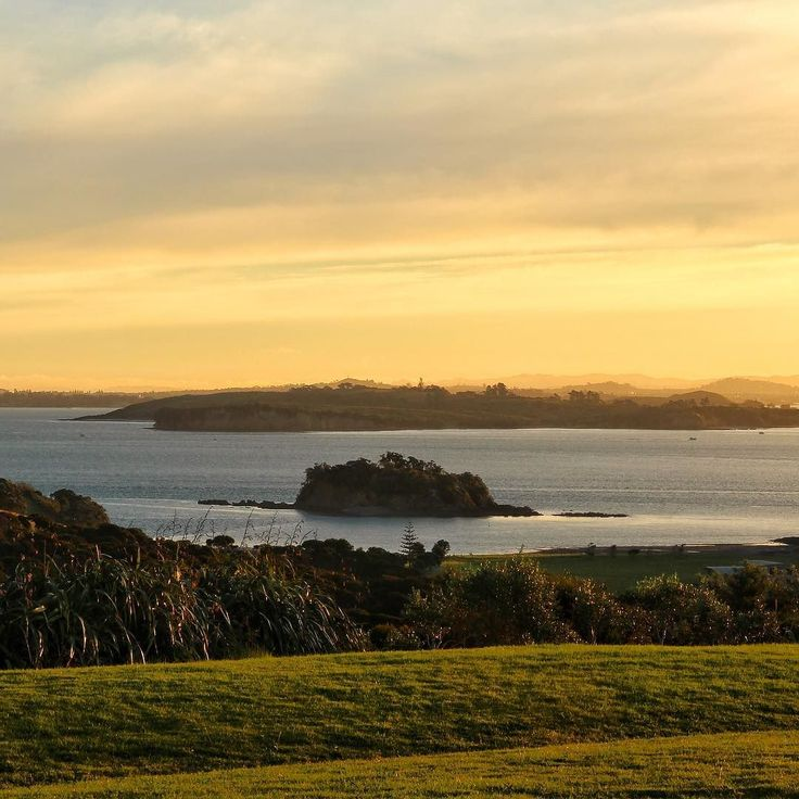 #Goldenhour at @cable_bay_vineyards on Waiheke Island last weekend. What a stunning place for dinner and  - @theglobalcouple on Instagram
