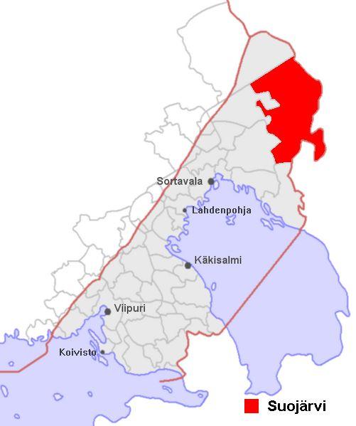 Suojärvi on entinen Suomen kunta Laatokan Karjalan pohjoisosassa Raja-Karjalassa Neuvostoliitolle 1944 luovutetulla alueella.