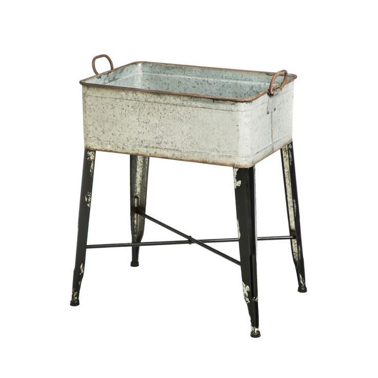 Bring back charming character and country style with this Farmhouse Planter Tub. A sweet addition to your cottage décor, this classic-style wash tub doubles as a decorative accessory in a bathroom or c...  Find the Farmhouse Planter Tub, as seen in the Sweet Vintage Bath Collection at http://dotandbo.com/collections/sweet-vintage-bath?utm_source=pinterest&utm_medium=organic&db_sku=109687