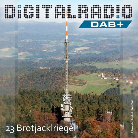 (23) Brotjacklriegel/Bayerischer Wald * Berg mit 1011 m ü. NHN Höhe im Landkreis Freyung-Grafenau und Wahrzeichen der Region Sonnenwald * seit 1951 betreibt der Bayerische Rundfunk den Standort für die Rundfunkübertragung * BDR sendet seit September 2001 Digitalradio von der Station – der BR seit Dezember 2011 *