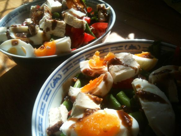 Egg and Bean Salad - Cooking Pot the iPhone App