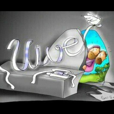 Por qué buscan entre los muertos al que está vivo?... Felices Pascuas de Resurrección  #HoyElSeñor #Resucito #NosSalvoDeLaMuerte #Aleluya #GloriaaDios by norarevi