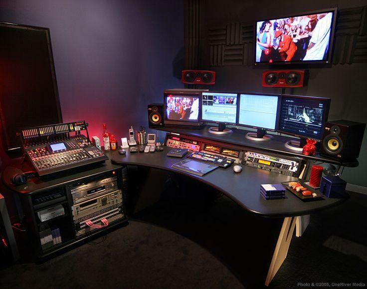 tbc crossfire x k3 non linear editing console adobe premiere pro recording studio deskaudio studiohome - Home Studio Desk Design