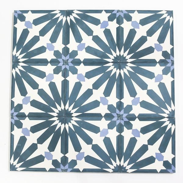 big al encaustic cement tile we took our very popular alhambra pattern and amplified it into this larger form of the same design. inspired by the grand palace l