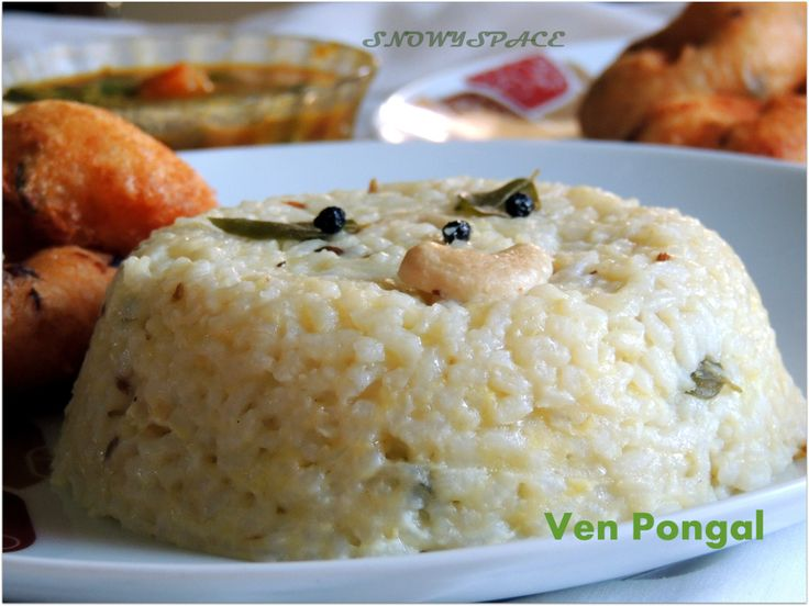 VenPongal_TamilNaduPongal_ChennaiPongal_Vada_SambarChutney_006