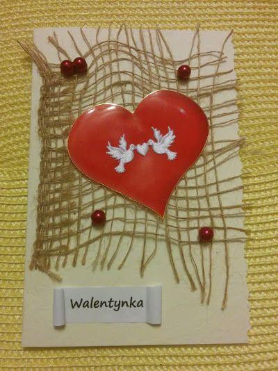 Walentynkowe kartki