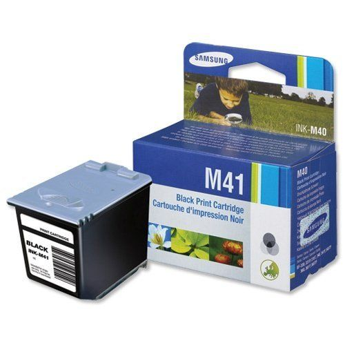 Samsung M41 Black Ink Cartridge - Black ink cartridge for SF-370/SF-375TP Fax Machine, Samsung-370 and SF-375 printers. (750 pages)  - http://ink-cartridges-ireland.com/samsung-m41-black-ink-cartridge/ - black, cartridge, Ink, M41, Samsung