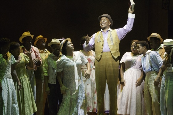 The Gershwins' Porgy and Bess Production Photos: David Alan Grier and Company