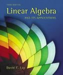 #books for sale : Linear Algebra and Its Applications by David C. Lay (2002, Hardcover) withing our EBAY store at  http://stores.ebay.com/esquirestore