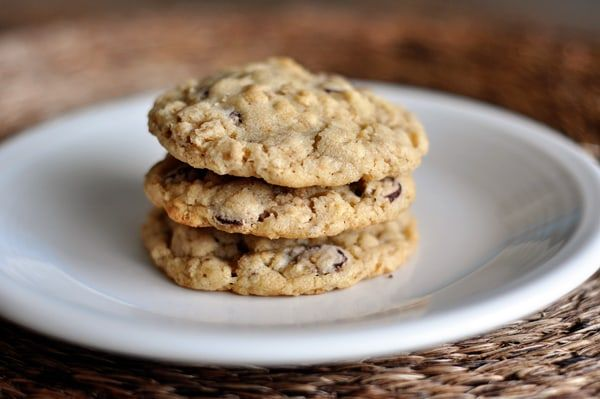 If you are looking for a straight-up classic oatmeal chocolate chip cookie with standard ingredients, try this one. You will not be disappointed!