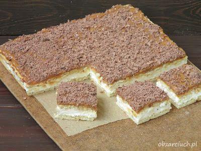 Błyskawiczne w przygotowaniu ciasto krówka z krakersami i masą na bazie serka mascarpone. Idealnie sprawdzi się, gdy goście są już w drodze