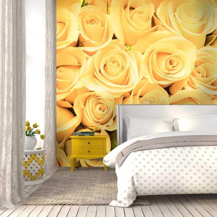 Fototapeta - žlté ruže | DIMEX