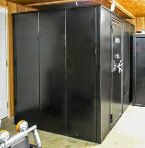 1000 images about shelters vaults on pinterest safe for Walk in safes