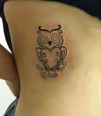 #owl #tattoo #girly #tattoos