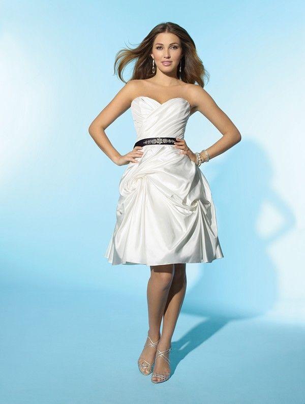 8 best short wedding dresses images on Pinterest | Short wedding ...