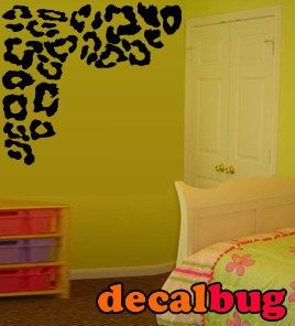 Fabulous Leopard Print Decor Wall Decal By Decalbug On Etsyu2026 This Would Be  Great For