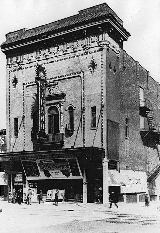 Strand Theatre, Mansfield and St. Catherine Street 1915 now is the Mansfield Gym