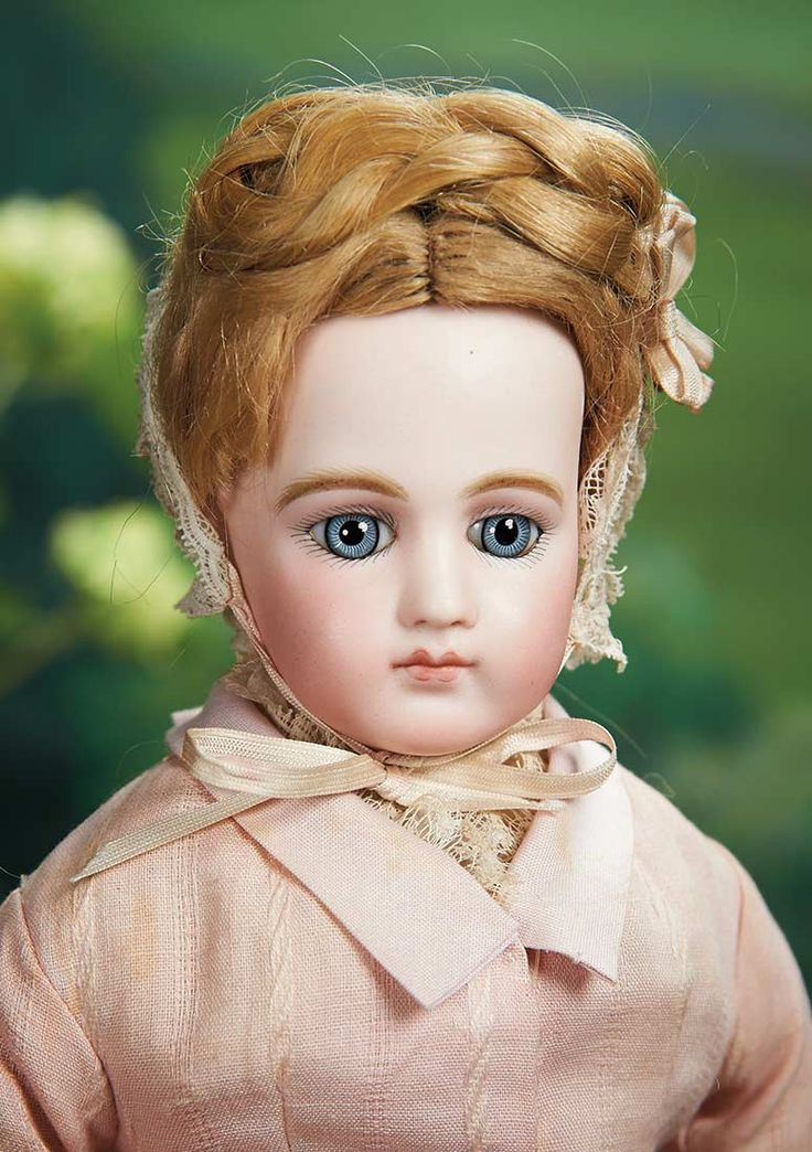 Beautiful and Rare French Bisque Portrait Poupee by Jumeau. Lot # 97, May 2, 2015