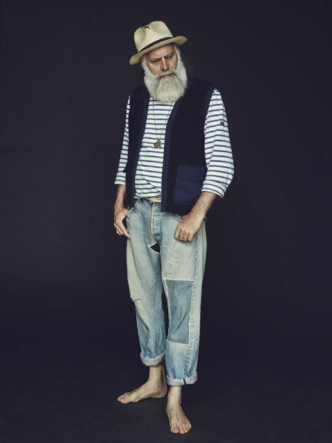 Old Beard Man | #beatd #retro