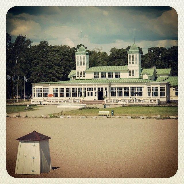 Casino in Hanko, Finland. #suomi #finland #hanko #beach