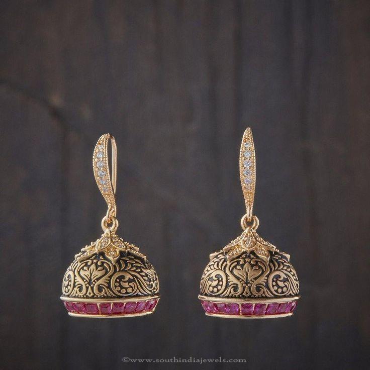 cool Imitation Designer Jhumka, Designer Jhumkas, Latest Imitation Jhumka Designs....