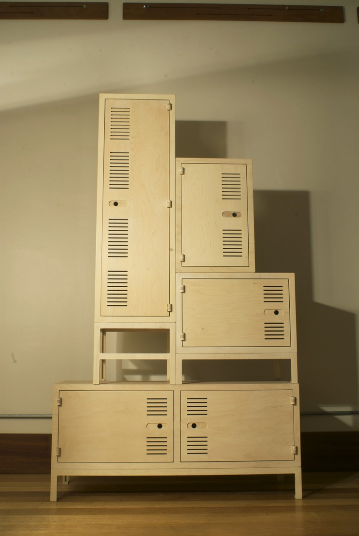 Ikonik lockers by RAW studios