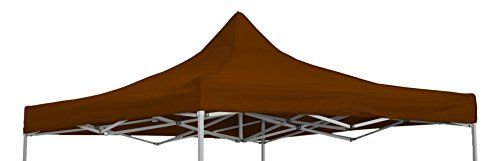 Trademark Innovations 9.6 X 9.6 square Replacement Canopy Gazebo Top Assorted Colors by (Brown) For Sale https://homepatiogarden.net/trademark-innovations-9-6-x-9-6-square-replacement-canopy-gazebo-top-assorted-colors-by-brown-for-sale/