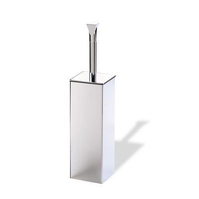 Stilhaus by Nameeks Prisma Free Standing Classic Style Toilet Brush and Holder
